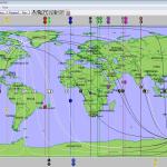 Einstein world map